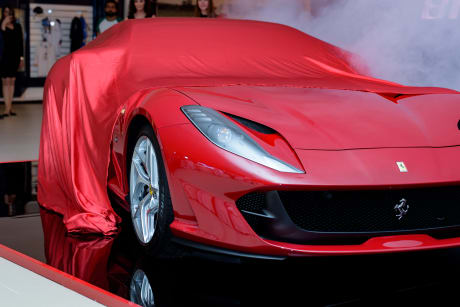The Ceremony Was Attended By Top VIPs And Public Figures As Well As Ferrari  Owners And Prospects That Enjoyed The Revealing Of The 812 And The Ferrari  ...