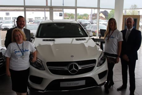 Mercedes Benz Of Bedford Support Local St Johnu0027s Hospice