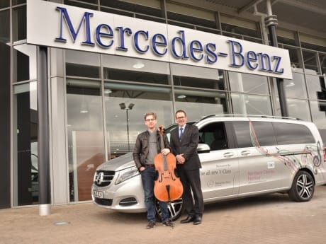 Dealership Proud To Sponsor Exciting Music Event Sytner Mercedes Benz