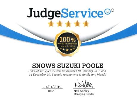 Contact Us in Poole   Snows Suzuki