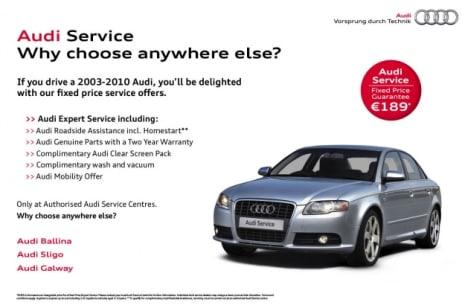 Car Servicing Repairs Galway Sligo Connolly Group Audi - Audi roadside service