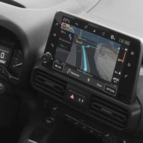 Citroen Berlingo Sat-Nav