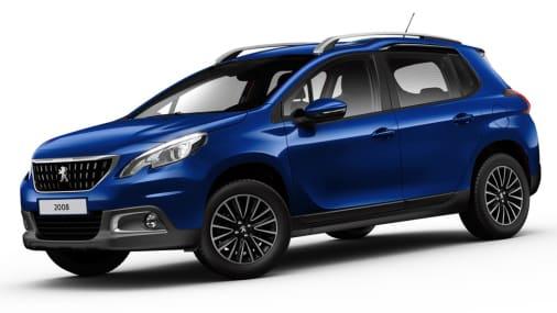 Peugeot 2008 blauw