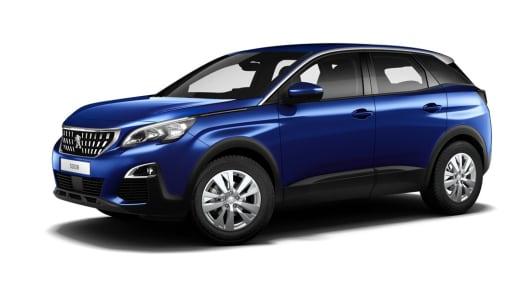 Peugeot 3008 blauw