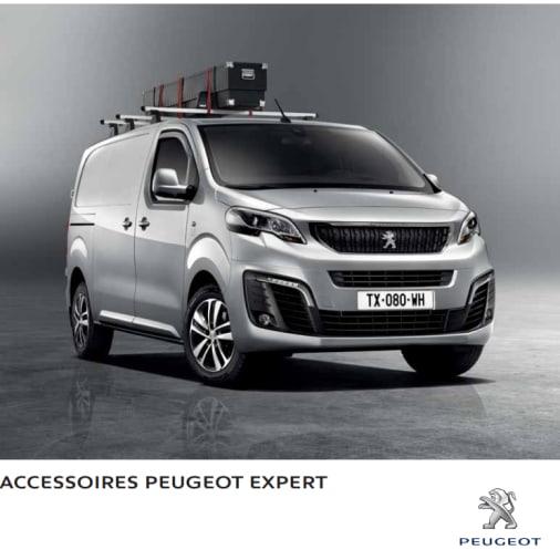 Brochure accessoires Peugeot Expert
