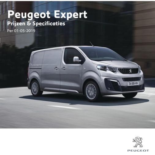 Prijslijst Peugeot Expert