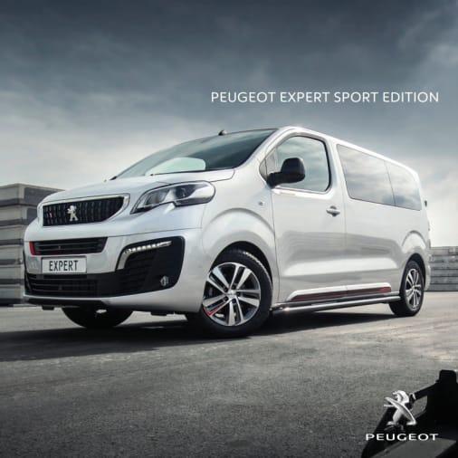 Brochure Peugeot Expert Sports Edition