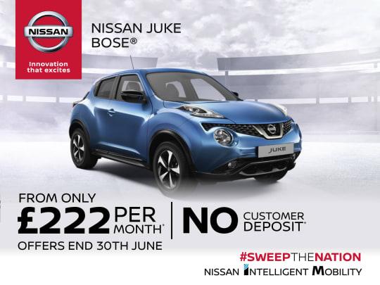 New Nissan Juke BOSE Personal Edition