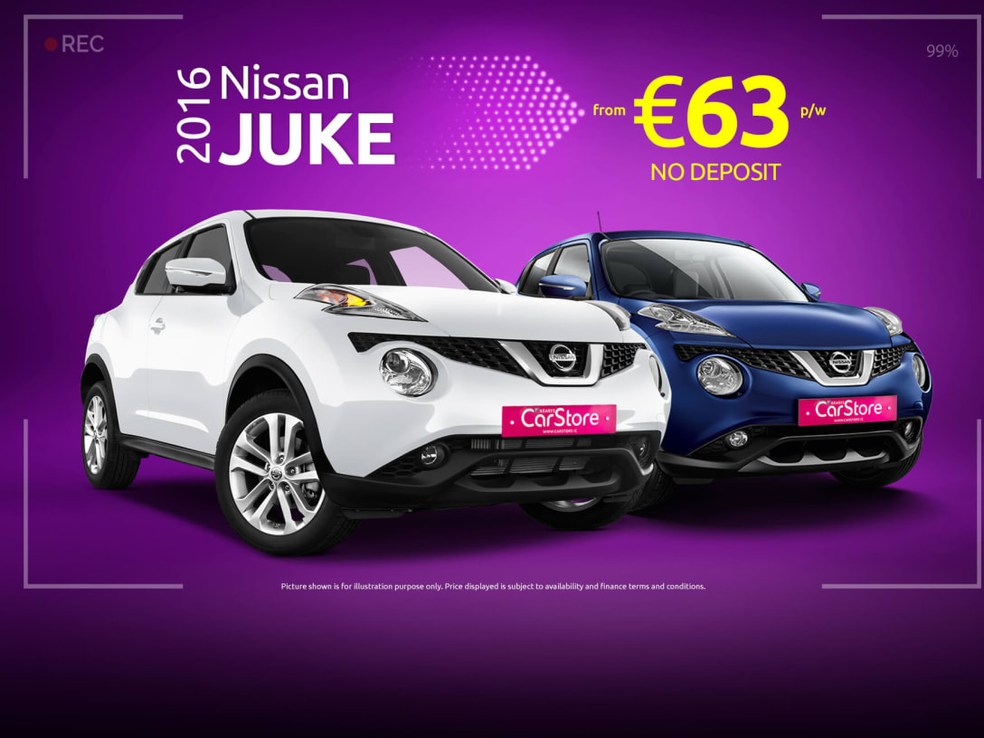 Used Nissan Juke Deals With Zero Deposit Only At Kearys Carstore Dublin And Cork