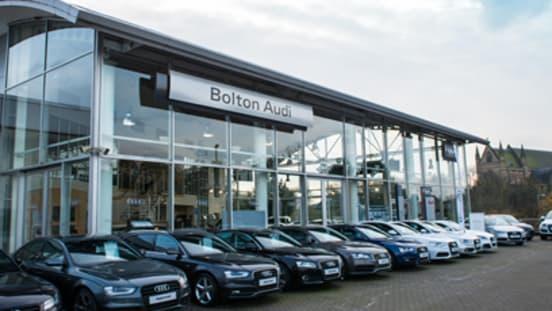 Approved Audi Dealership In Bolton Official Dealers - Audi car dealership