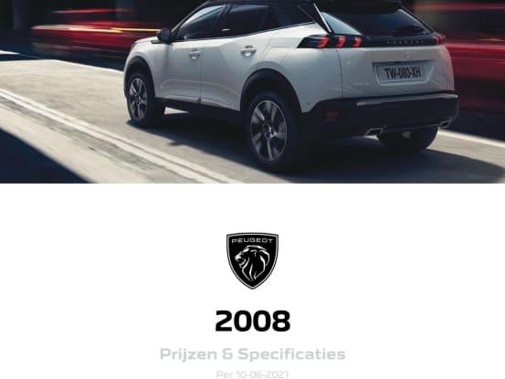 Visser Automotive Peugeot 2008 SUV prijzen en specificaties folder voorzijde