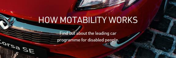 How Vauxhall Motability Works