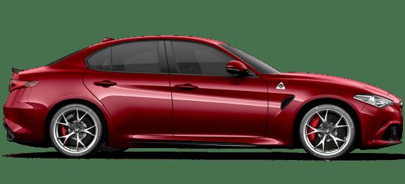 Alfa Romeo Giulia Quadrifoglio Red Side Exterior