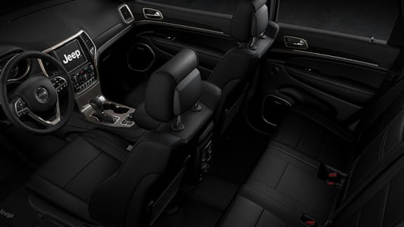 Jeep Grand Cherokee Seating Overview