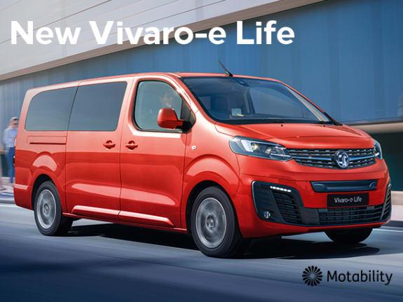 Vivaro-e Life Motability