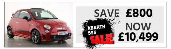 Used Abarth 595 Convertible