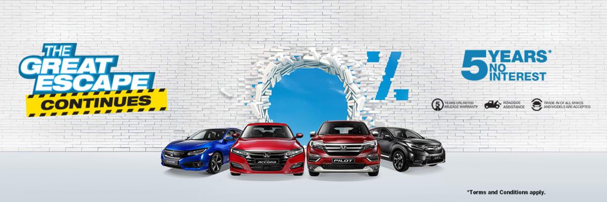 Best New Honda Car Deals In The United Arab Emirates Honda