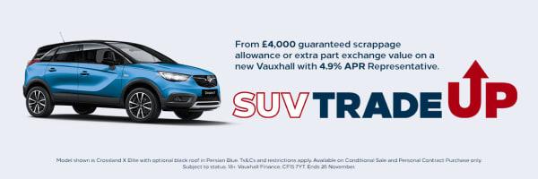 Crossland X - SUV Trade Up