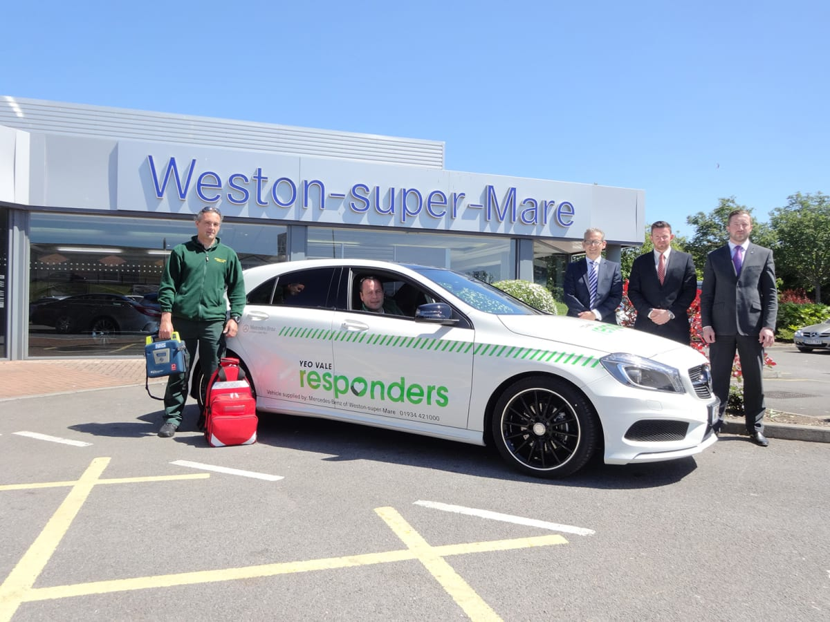 Mercedes Benz Of Weston Super Mare Assist In First Line Response Sytner Mercedes Benz