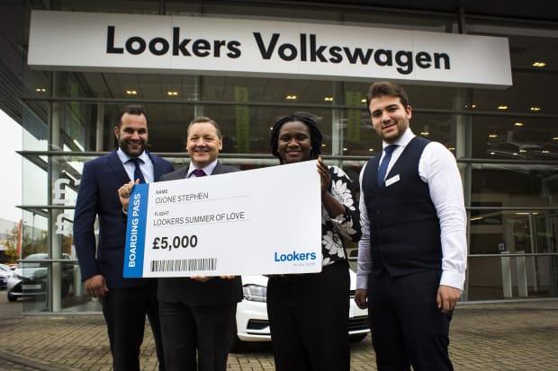 Vw Lookers >> Summer Of Love Winner Lookers Volkswagen