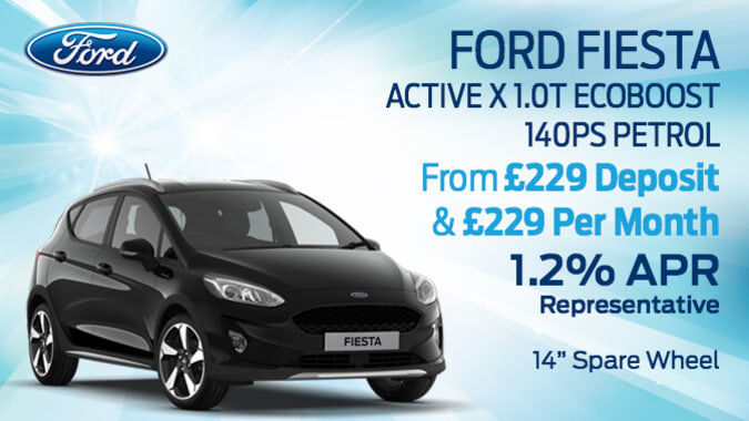 priv ford fiesta active x 1.0t ecoboost 140ps petrol