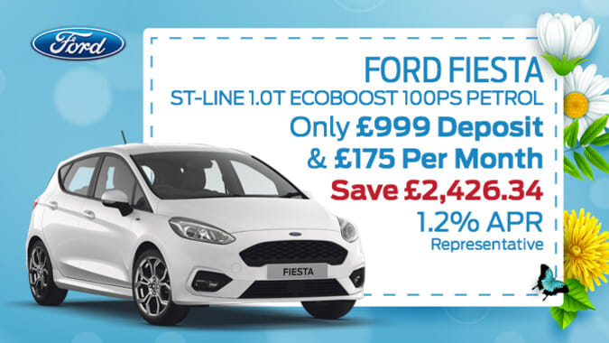 f8001a9e8a Ford Fiesta ST-Line 1.0T EcoBoost 100PS Petrol