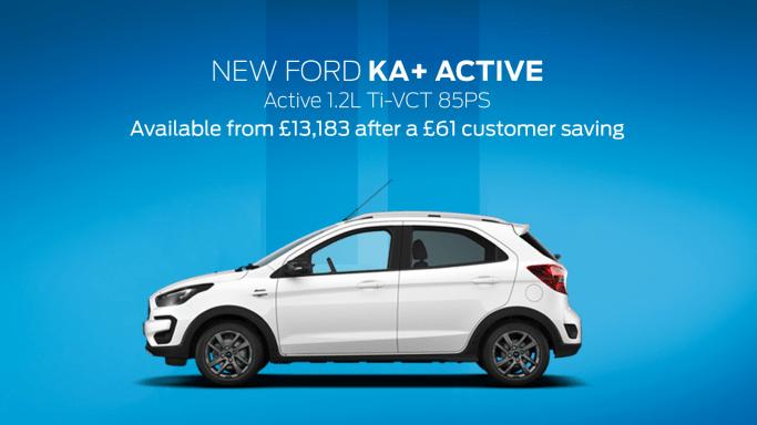 Ford Ka Active Offer