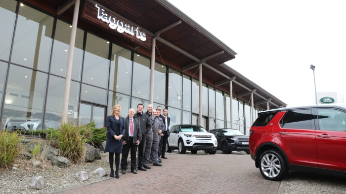 Taggarts Celetes 20 Years of Land Rover