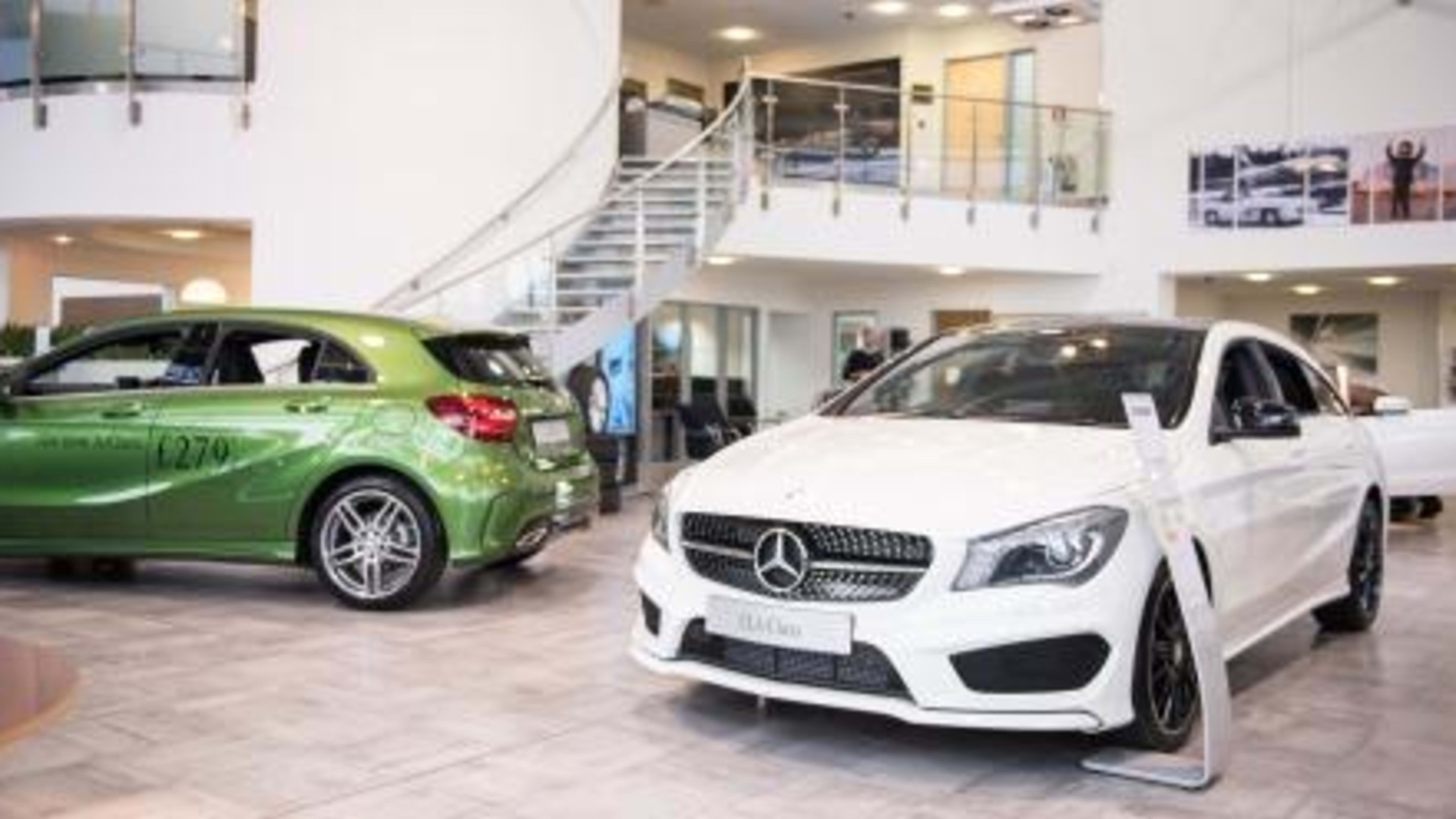 Mercedes Benz Of Swindon Sytner Group Limited