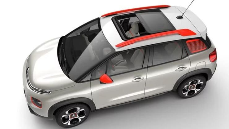 C3 Aircross Panoramic Sliding Glass Roof