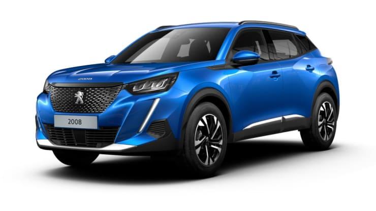 Nieuwe Peugeot 2008 blauw