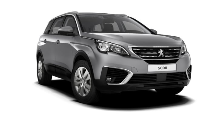 Peugeot 5008 SUV grijs te koop bij Visser Automotive Nijkerk