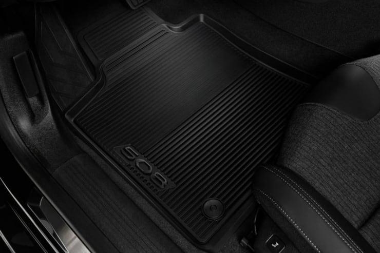Peugeot 508 accessoire automat set rubber