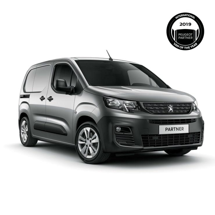 Peugeot Partner International Van of The Year