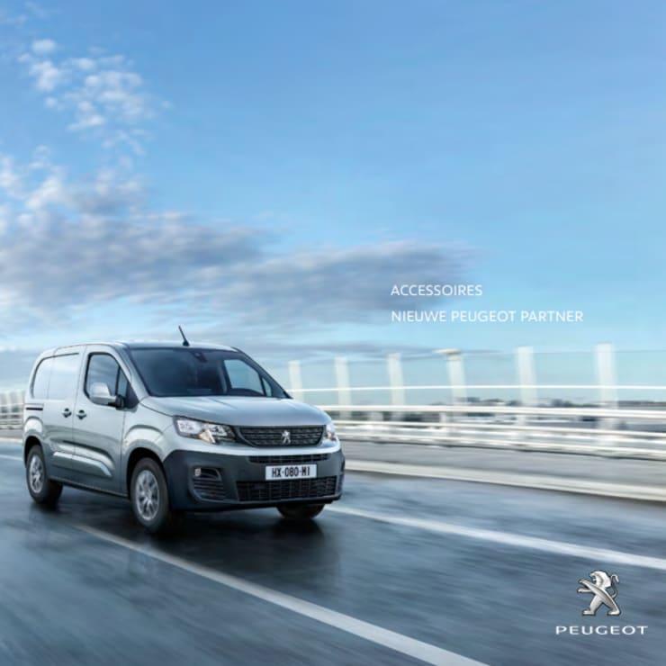 Brochure accessoires Peugeot Partner