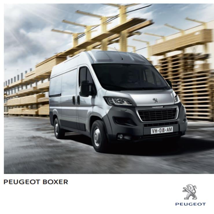 Brochure Peugeot Boxer