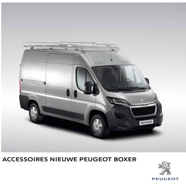Brochure accessoires Peugeot Boxer