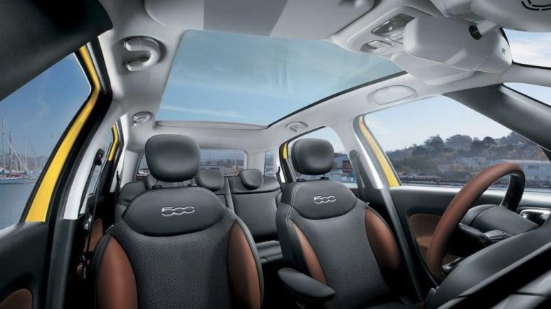 Fiat 500L Front Seats
