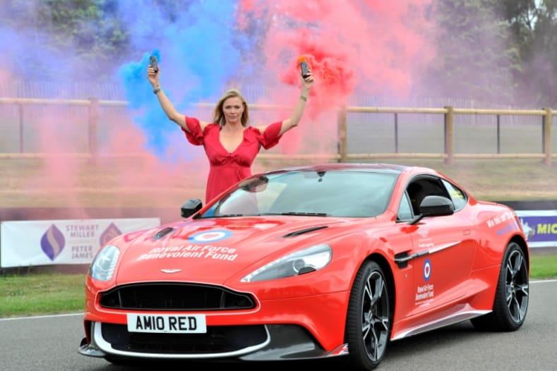 Aston Martin Vanquish Red