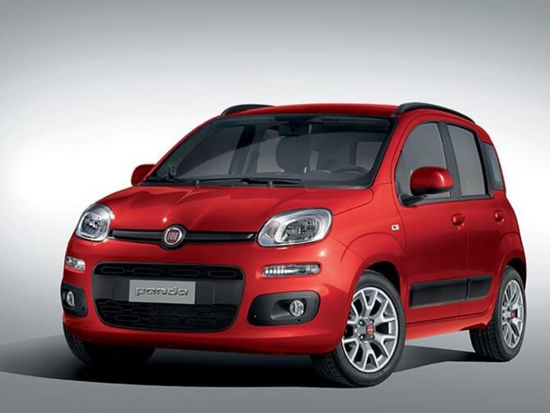 Red Fiat Panda Front Exterior