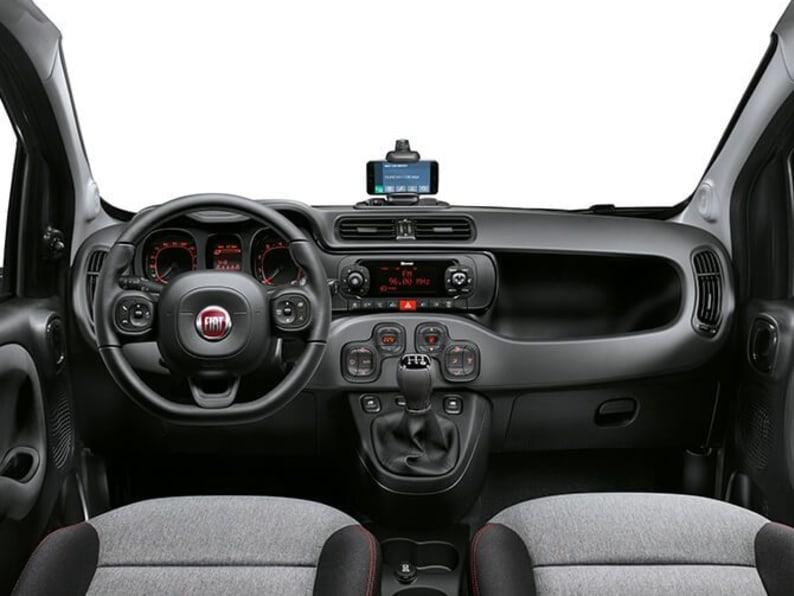 Fiat Panda Interior Console