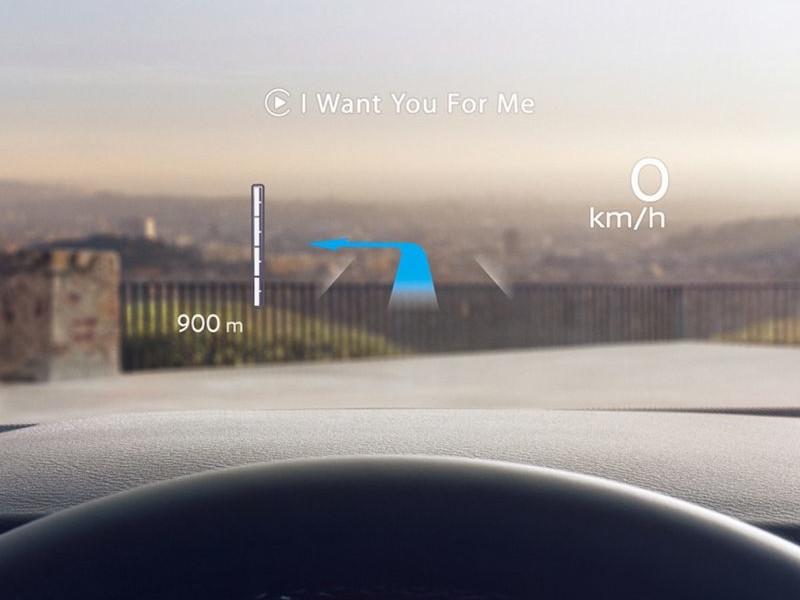 "10.8"" Windscreen Head-Up Display (HUD)"