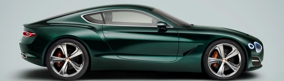 Bentley Unveil An All New High Performance Two Seater Sports Car   EXP 10  Speed 6.