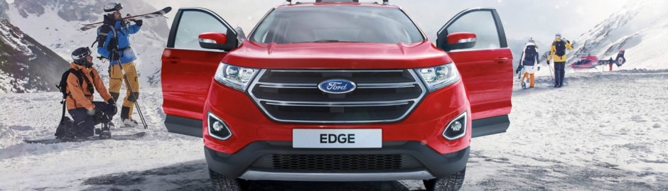 Parts And Accessories The New Ford Edge