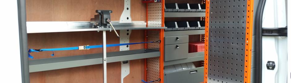 Van Racking Amp Storage Solutions