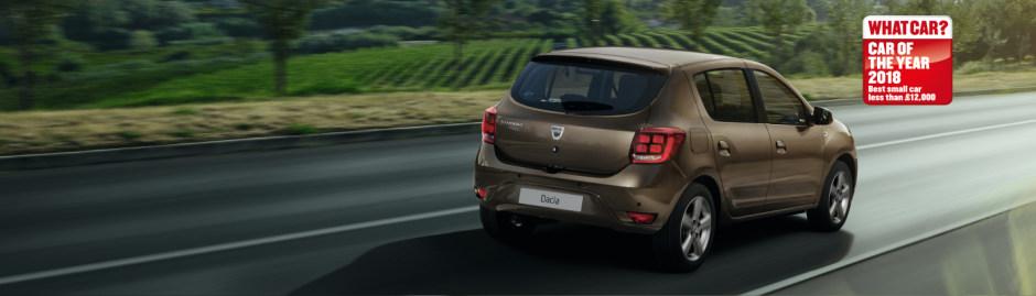 New Dacia Sandero Acces Offer   Glyn Hopkin Ltd