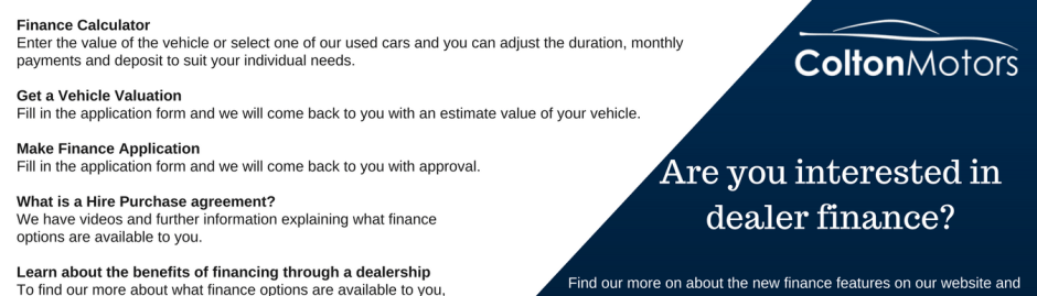 Car Finance Mullingar Tullamore Colton Motors