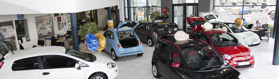 New Used Fiat Dealer Redmoor Milton Keynes Glyn Hopkin - Fiat dealers in london
