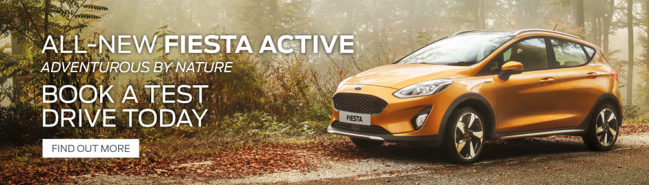 Fiesta Active Video Ford  Plate