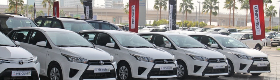 Toyota Pre Owned Vehicles Toyota Uae